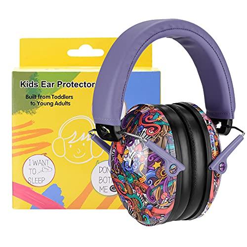 PROHEAR 032 Kids Ear Protection Safety Earmuffs - Symbol Music Pattern