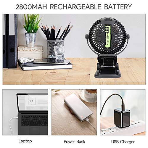 Qhui Mini USB Ventilator