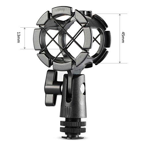 SMALLRIG Mikrofon Shock Mount für Camera Cold Shoe und Boompoles-1859