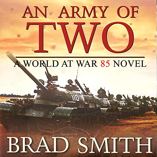 An Army of Two audiobook cover art