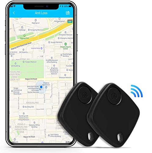 Key Finder Smart Tracker - Key Finder Locator with App for Phones Purse Keychain Bag Luggage - Bluetooth Wallet Tracker Item Finder for iPhone Android