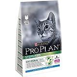 Pro Plan - Pienso de Gato Sterilised – Au Conejo – 3 kg – Pienso para Gatos empotrados/esterilizados