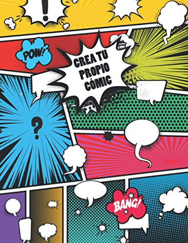 Crea tu Propio Cómic: Libro de Dibujo en Blanco - Cuaderno de 110 Páginas Para Adultos, Adolescentes y Niños (A4) - Cree su Propio Cómic