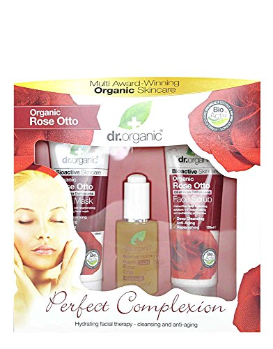 Dr Organic Kit Facial Rose Otto