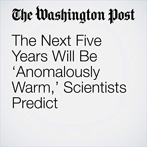 The Next Five Years Will Be 'Anomalously Warm,' Scientists Predict copertina