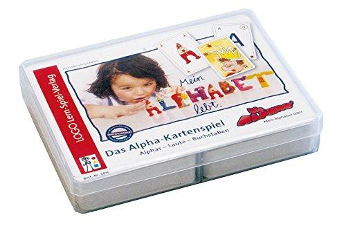 Die Alphas - Mit allen Sinnen Lesen lernen für alle Kinder von 4 - 7 Jahren: Kartenspiel