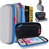 Orzly Case for Nintendo Switch Lite - Portable Travel Carry Case with Storage for Switch Lite Games...