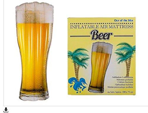 Verre De Bière Gonflable (Matelas Gonflable 180 Cm)