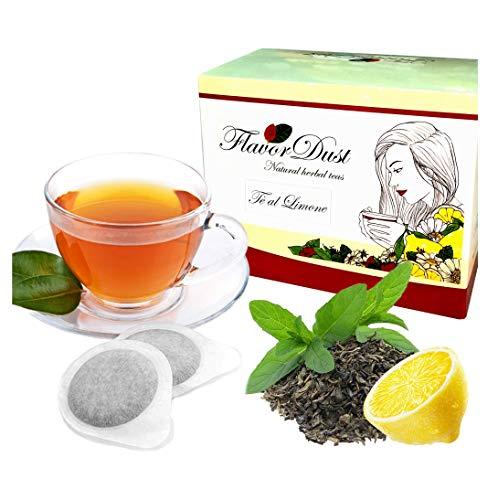 CIALDE CAFFE Tisane 30 pz FLAVORDUST Tè al Limone - ESE Formato standard 44 mm.