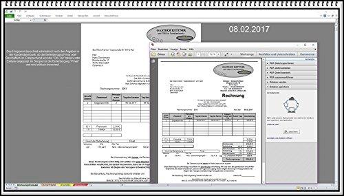Rechnungsprogramm auch 5% und 16% MwSt Rechnungssoftware mit City Tax und Kurtaxe für Hotelfach Hotel Herberge Pensionen Ferienwohnung Gästehaus Rechnungen erstellen Rechnungsdruckerei