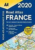 Road Atlas France 2020 (AA Road Atlas)