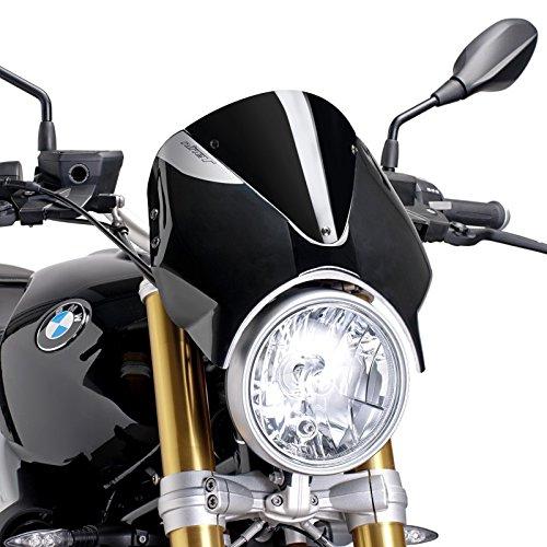 Windschild für BMW R NineT 14-19 schwarz Puig 7012n