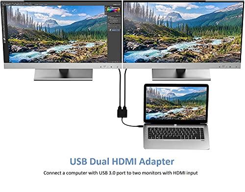 Mokeum Adaptadores USB-VGA