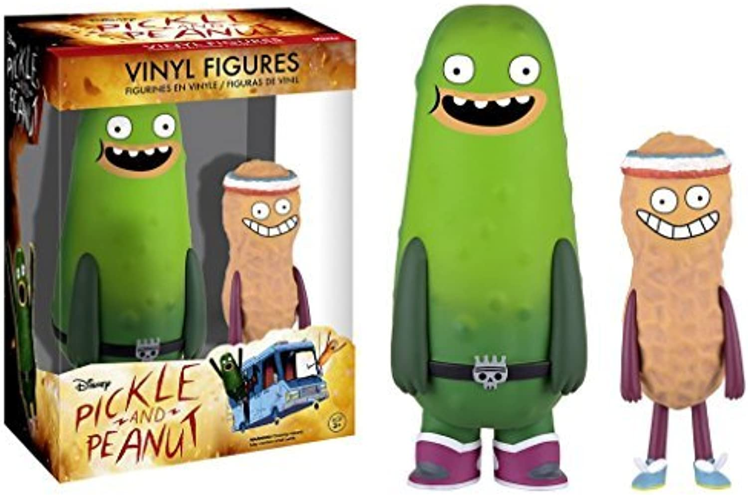 Funko Disney Pickle And Peanut Vinyl Figures by Pickle And Peanut