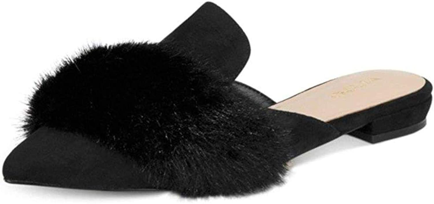 Aldo Womens Dorriety-98 Pointed Toe Slide Flats