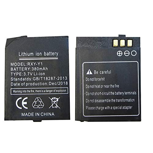 RYX-Y1 smart watch Battery Y1 Battery for Smart Watch Phone 380mAh Battery for Y1 Long Standby Standby Battery