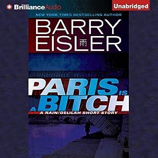 Paris Is a Bitch audiobook cover art
