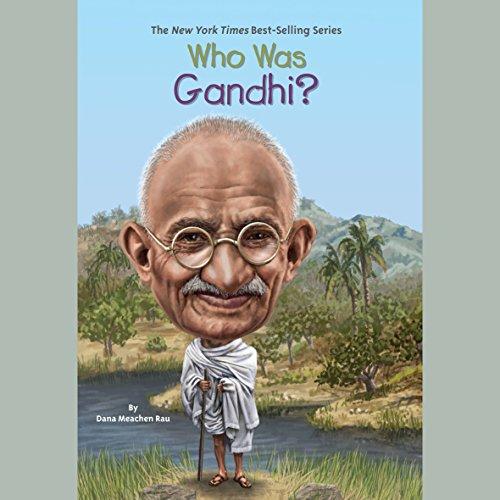 『Who Was Gandhi?』のカバーアート