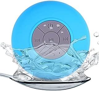 ZYZRYP Mini Bluetooth Speaker Portable Waterproof Wireless Handsfree Speakers, For Showers, Bathroom, Pool, Car, Beach & Outdo (Color : Blue)