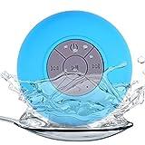 OYZK Altavoces Bluetooth portátiles Impermeables Altavoces inalámbrico de Manos Libres, for Las duchas, baño, Piscina, Coche, Playa y aventajan (Color : Azul)
