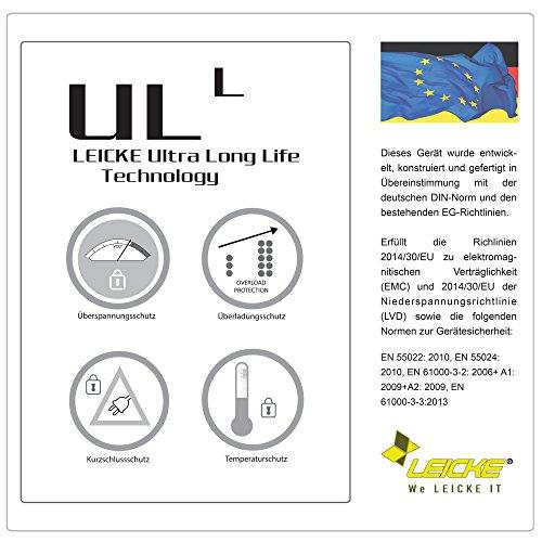 LEICKE ULL-Netzteil für viele Notebookmodelle, wie ASUS, Medion, Toshiba, Lenovo UVM. | 90W | 19V 4,74A | 5,5 * 2,5mm