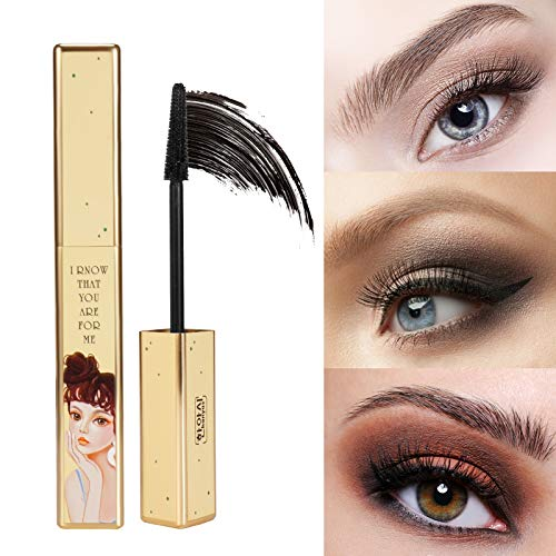 ONLYOILY 4D Silk Graft fiber Lash Volumizing y Waterproof Mascara Black