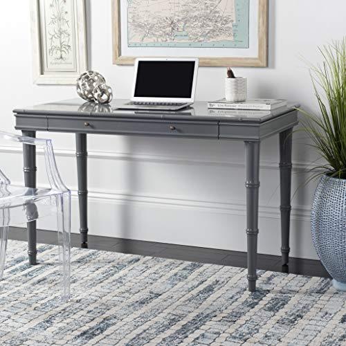 Safavieh Home Office Noely Modern Coastal Grey 1-drawer Writing Desk