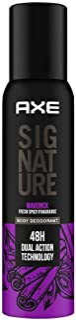 Axe Signature Maverick No Gas Body Deodorant For Men 154 ml