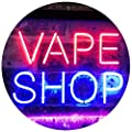 ADVPRO Vape Shop Indoor Display Dual Color LED Neon Sign st6-i3018