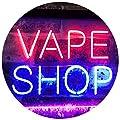 ADVPRO Vape Shop Indoor Display Dual Color LED Neon Sign st6-i3018