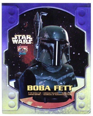 Star Wars Boba Fett Legends in 3 Dimensions Bust image