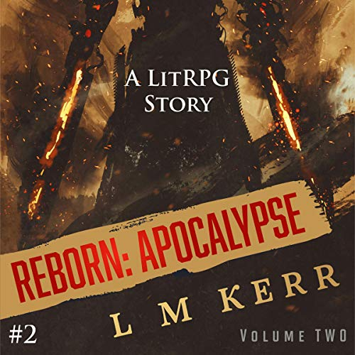 Reborn: Apocalypse: Book 2 audiobook cover art