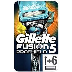 Gillette Fusion5 ProShield Chill Maquinilla de Afeitar (con 6 recambios)
