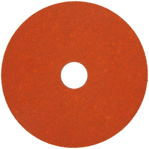 Norton SG Blaze F980 Abrasive Disc, Fiber Backing, Ceramic Aluminum Oxide, 7/8