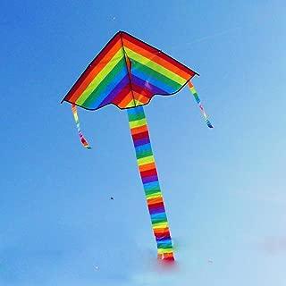 凧 微風で揚がる凧 カラフルカイト 1.2M◆ガンガン上昇!楽しいカイト 並行輸入品...