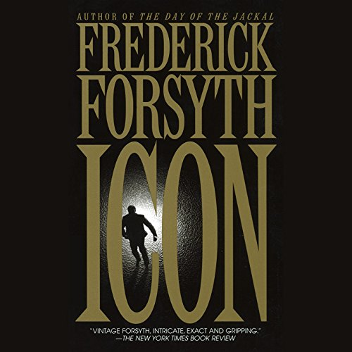 Icon audiobook cover art