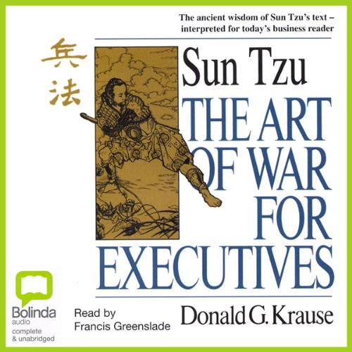 The Art of War for Executives audiobook cover art