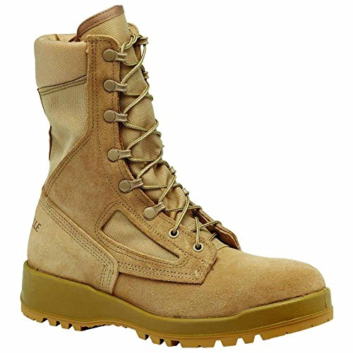 Belleville 390DES Men's 8-in Combat Tactical Boot Tan 7 M US