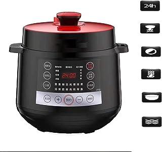 MissZZ Olla arrocera con tazón de cerámica y lógica Avanzada, 5 Funciones de cocción de arroz, 3 Funciones de Cocina múltiple, (700W, 220V, 6L) Reino Unido/UE, B