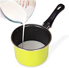 Useful Portable Soup Pot Cooking Tool Non-stick Milk Pot Mini Sauce Pan Stockpot Hot Milk Pot, Non-stick Soup Pot Kitchen ...