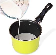 Useful Portable Soup Pot Cooking Tool Non-stick Milk Pot Mini Sauce Pan Stockpot Hot Milk Pot, Non-stick Soup Pot Kitchen ...