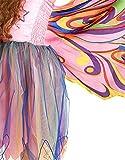 Dreamy Dress-Ups 50885 Dress, Fly-Away-Kleidchen, Fairy Rainbow, Regenbogenfee, S 4-5 YRS
