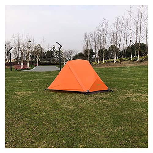 XXY Tienda De Mochila Ligera Persona, Tienda Impermeable, Ultraligero 1 Hombre (Color : Orange Color)