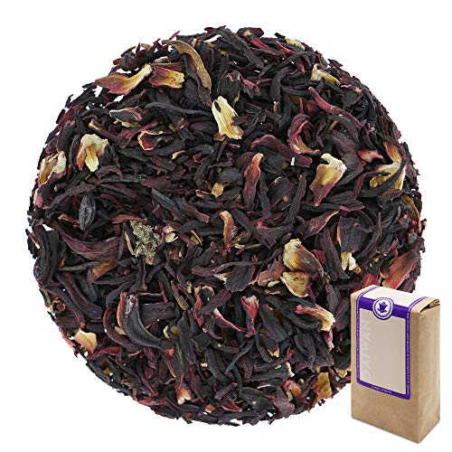 No. 1260: Organic Herbal Tea Loose Leaf 'Hibiscus (Rose Mallow)' - 500 g (17.6 oz, 1.1 lbs) - GAIWAN Germany - Herbal Tea from Controlled Organic Cultivation from Burkina faso