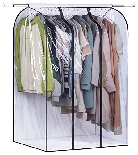 잠자는 양고기 50 ``코트 정장 드레스 (프레임 포함) 용 봉인 된 옷장 의류 보호 장치 용 씰링 옷장 의류 보호 장치 용 잠자는 양고기