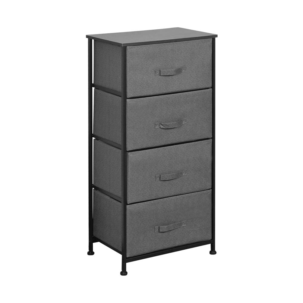 Espresso with Driftwood Handles and Sterilite 01986P01 3 Weave Drawer Unit