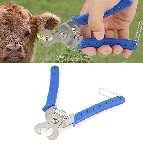 HEEPDD Edelstahl Ohrmarke Entfernung Zangen Vieh Ohrmarke Entferner Nutztier Werkzeuge für Rinder Schaf Kuh Ziegenschwein