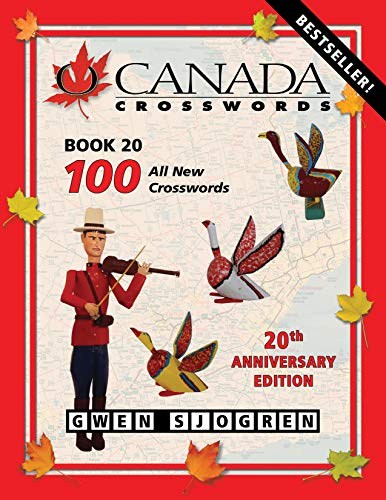 O Canada Crosswords, Book 20