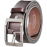 VORACA Mens Genuine Leather Belt