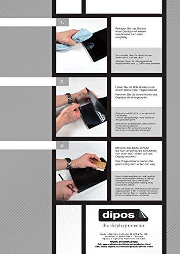 dipos I Blickschutzfolie matt kompatibel mit Huawei MateBook X Pro Sichtschutz-Folie Display-Schutzfolie Privacy-Filter - 4